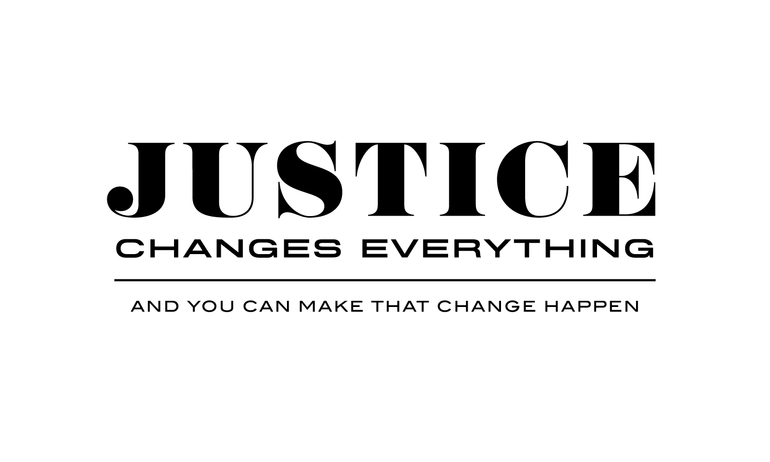Justice Changes Everything Artwork