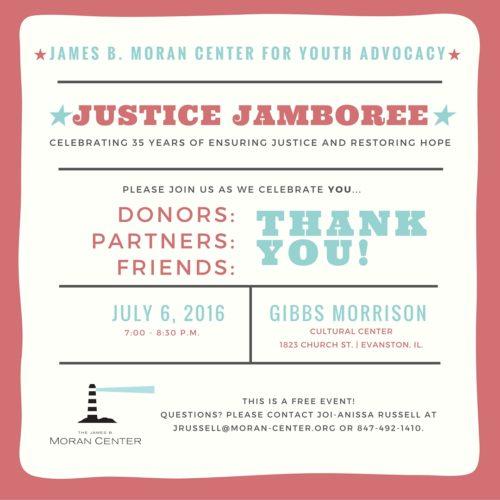 Justice Jamboree Invite