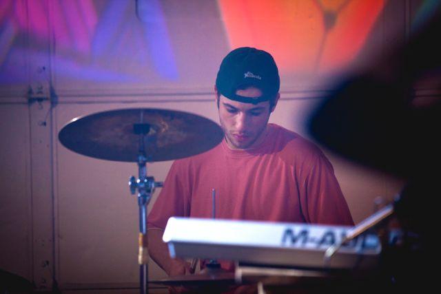 Me drumming with Rub n' Alc2